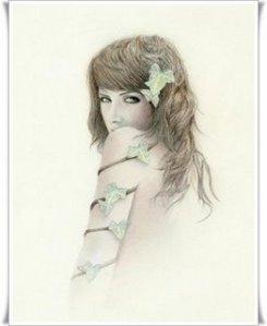 beautiful girl painting 8